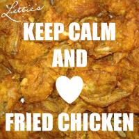 Keep Calm Love Fried Chicken