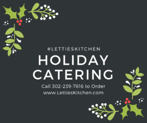 holiday catering 2018
